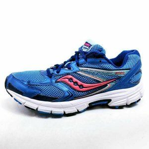 Saucony Womens 10 Cohesion 9 Running Shoes Blue